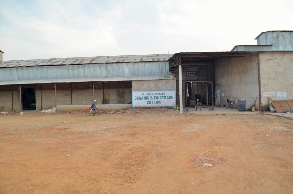 fabrică de egrenare din India